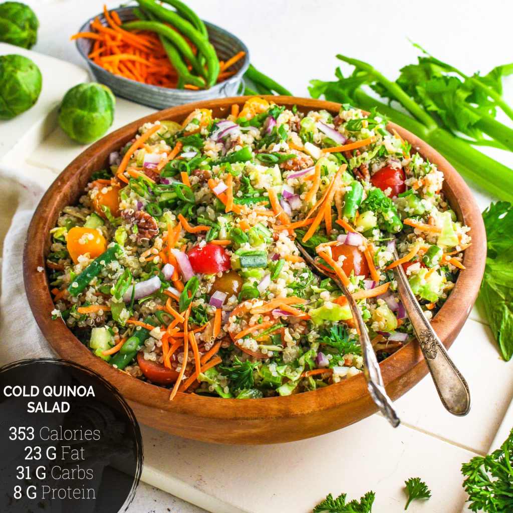 Fall Quinoa Salad Everydayveganfood Com